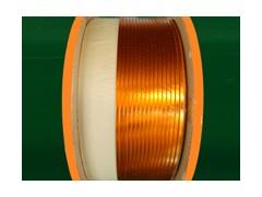 供应双玻璃丝亚胺膜包扁铜线 ed-12rt