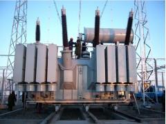 SFSZ11-100000kVA 220kV在现场安装