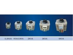 自耦式纯铜TDGC2-0.2KVA接触式单相交流变压调压器