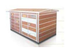 环保低碳木箱变外壳