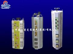 自耦式纯铜TSGC2(J)-9KVA接触式单相交流变压调压器
