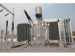 110~330kV级单相三绕组牵引变压器