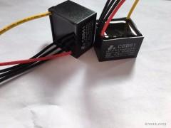 供应宏邺 金属化薄膜电容 安规电容CBB61交流调速电容器金属化薄膜电容 CBB61 金属化薄膜电容