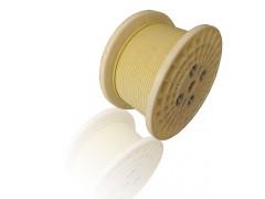玻璃丝包聚酯膜包铝扁线