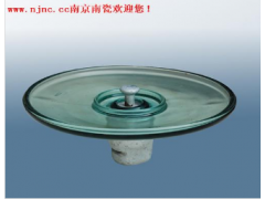 LXAY空气动力型盘形悬式玻璃绝缘子\南京南瓷