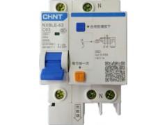 供应正泰漏电断路器NXBLE-63 1P+N C63