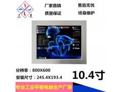 10.4寸双网口工业平板电脑