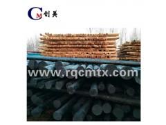 油木杆 油炸杆 防腐油木杆 钢绞线 线路铁件 光缆预留架