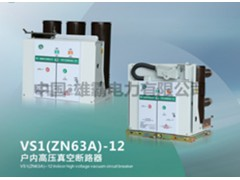 VS1(ZN63A)-12户内高压真空断路器